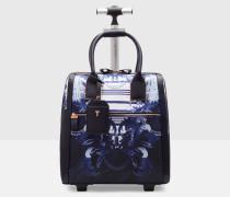 Reisetasche mit Persian Blue-Print