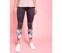 Mesh-leggings Mit Mirrored Minerals-print