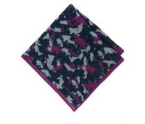 Einstecktuch mit Camouflage-Print