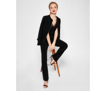 Kick Flare Suit Trousers