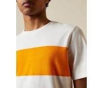 Cotton Chest Stripe T-Shirt