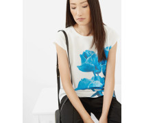 T-Shirt mit Blue Beauty-Print