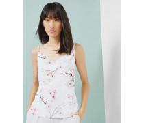 Cami-Top mit Oriental Blossom-Print