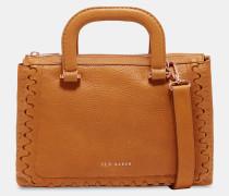 Interlocking Leather Tote Bag