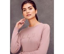 Pullover Mit beauty Sleep Slogan