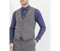 Debonair modern fit wool waistcoat