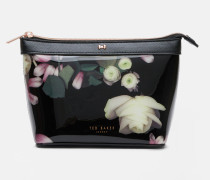 Make-up-Tasche mit Kensington Floral-Print