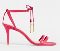 Tassel Tie Strappy Sandals
