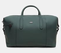 Reisetasche aus gummiertem Leder