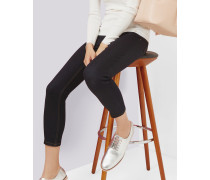 Gekürzte Jeans in Rinse-Waschung