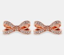 Schleifen-ohrringe Mit Swarovski®-kristallen