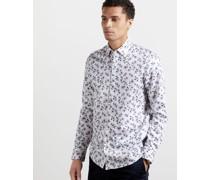 Hemd aus Baumwolle mit Blumenmuster