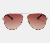 Piloten-sonnenbrille Aus Metall