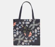 Kleine Icon-tasche Mit Kyoto Gardens-print