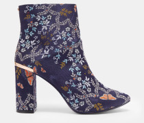Ankle Boots Mit Kyoto Gardens-print