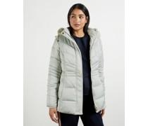 Fur Hood Puffa Coat