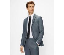 Slim Fit Textured Suit Jacket
