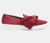 Slip-on Sneakers mit Schleife