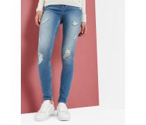 Zerrissene Skinny-Jeans