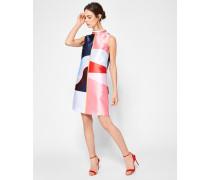 Tunikakleid im Blockfarben-Design
