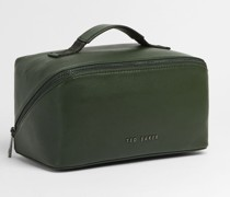 Coloured Leather Washbag