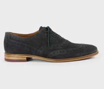 Leather Brogue Oxford Shoe