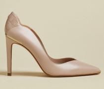 Leather Stiletto Court Shoes