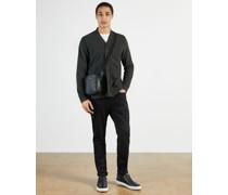 Jersey Pocket Detail Cardigan