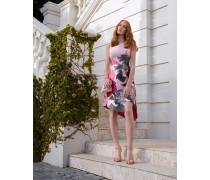 Asymmetrisches Kleid Mit Palace Gardens-print