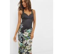 Bodycon-Kleid mit Gem Gardens-Print
