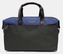 Zweifarbige Reisetasche
