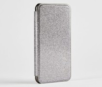 Iphone X-Hülle im Glitzerdesign
