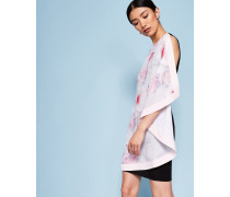 Doppellagiges Kleid mit Chelsea Grey-Print