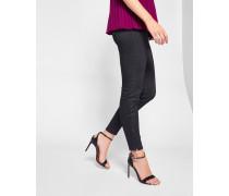 Skinny-jeans Mit Glitzer-effekt