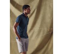 Poloshirt aus Baumwolle mit Brusttasche