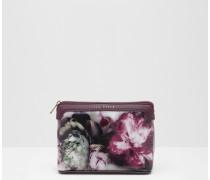Make-up-Tasche mit Ethereal Posie-Print