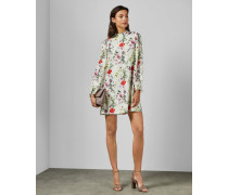 Tunika-Kleid mit Hedgerow-Print