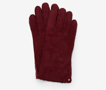 Handschuhe aus Wildleder und Lammfell