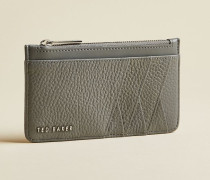 Leather Zipped Card Holder