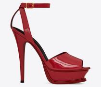 rote tribute 105 peep-toe-sandale