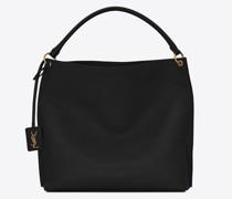 Tag Hobo-Bag aus Glattem, Sattelartigem Leder