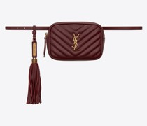 Lou Belt Bag In Matelassé Leather Rot