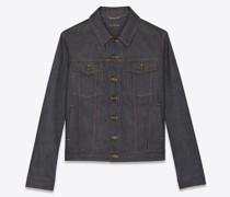 Jacket In  Denim Blau