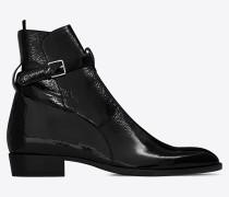 signature wyatt 30 jodhpur-stiefel in schwarz