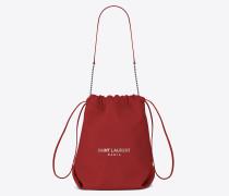 TEDDY Tasche aus rotem Leder