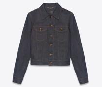 Classic Jacket In  Denim Blau