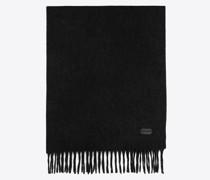 Schal aus Kaschmirbouclé Grau