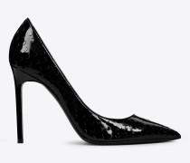schwarze anja 105 d'orsay pumps