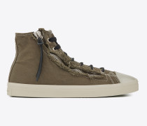 mittelhoher rivington  sneaker mit reißverschluss in army-khaki