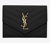 monogram passetui in schwarz